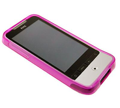 GEL SKIN CASE SILICONE COVER FOR HTC LEGEND G6 PINK NEW