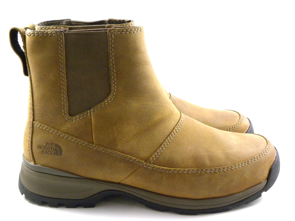 The North Face Ketchum Mid Brown Leather Slip-on Winter